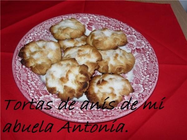 tortas de anis de mi abuela Antonia